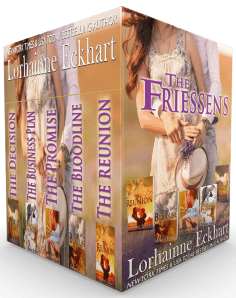 The Friessens (Books 1 – 5, Box Set)