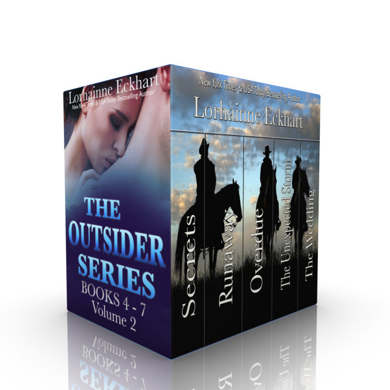 The Outsider Series: Books 4 – 7, Volume 2