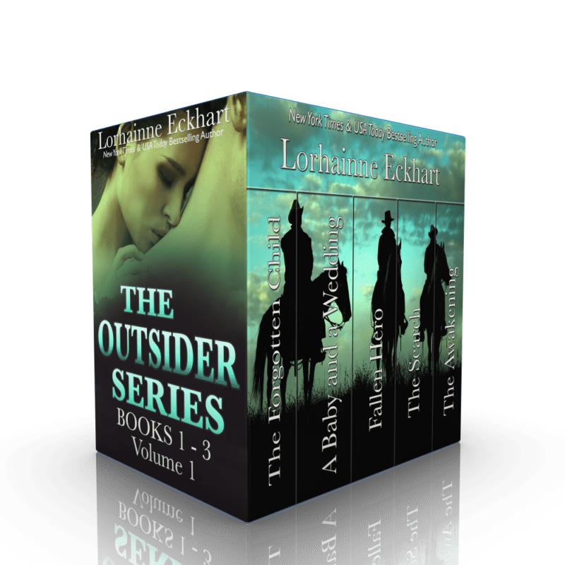 The Outsider Series: Books 1 – 3 Volume 1