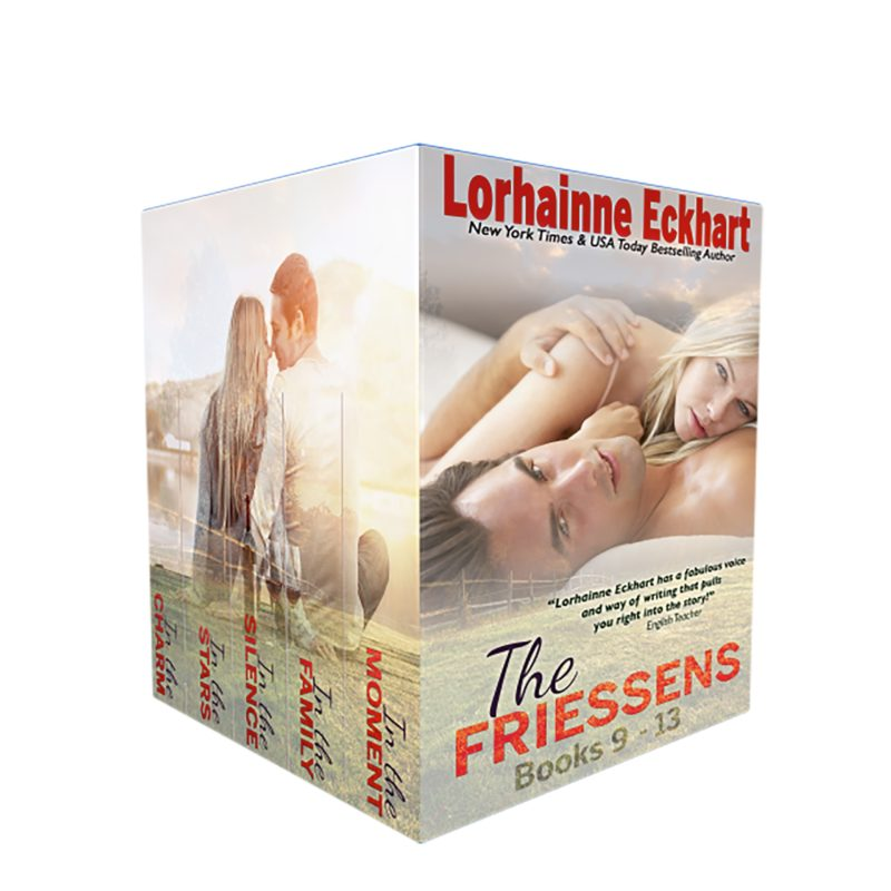 The Friessens Books 9 – 14 Box Set