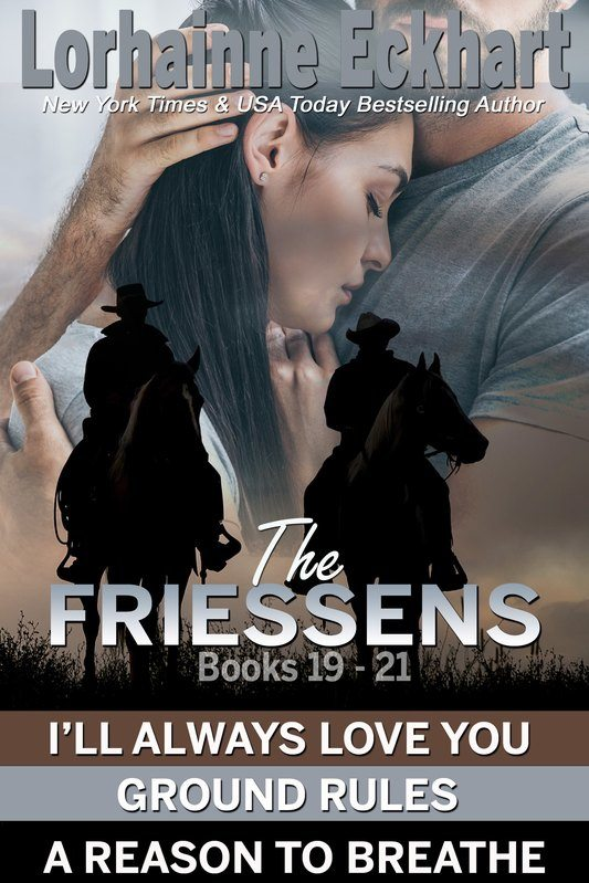 The Friessens Books 19 – 21