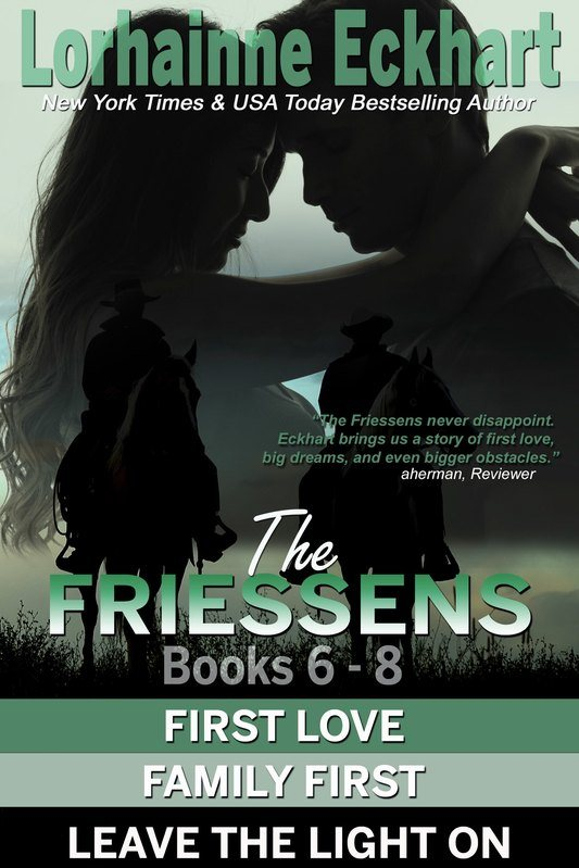 The Friessens: Books 6 – 8